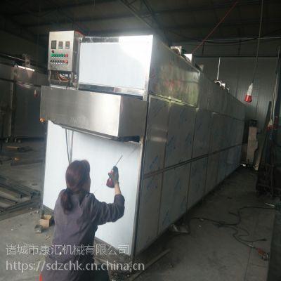康汇大枣多层烘干机 带式食品干燥设备 热风循环烘干机