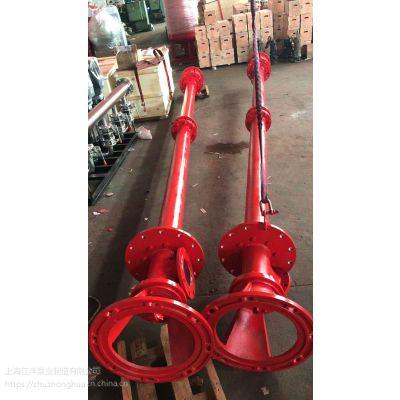 干式电机长轴喷淋泵XBD7.5/40GJ-RJC 消防加压泵 液下6米