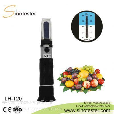 LH-T20手持糖度计糖度折射仪水果饮料甜度计糖量仪