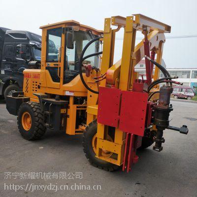 徐州螺旋钻机设备 打拔钻一体打桩机设备