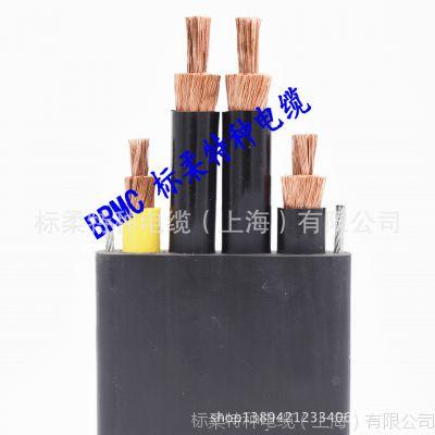 YFFBG起重机扁电缆 起重机扁平电缆