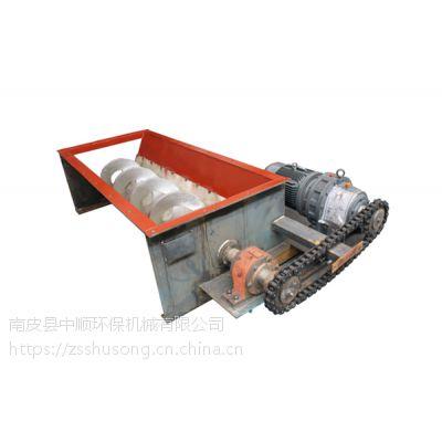 化工厂非标定做无轴WLS260螺旋输送机设备加工厂家