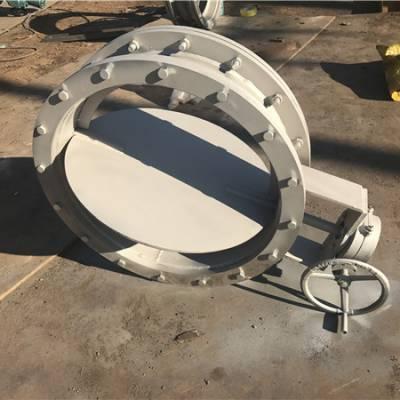 供应昆明电厂专用多叶片圆形风门,DN1000大直径圆风门