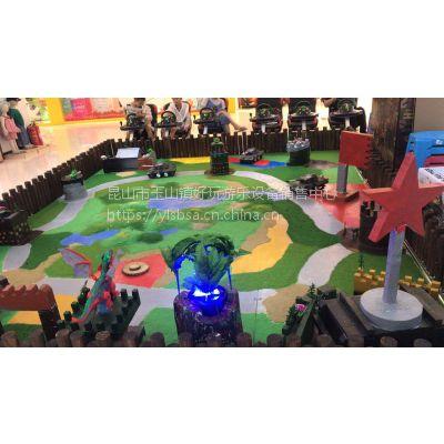 方向盘遥控坦克等坦克大战儿童游乐设备厂家新产品设计出来了