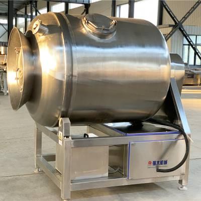 春泽1000L肉制品变频真空滚揉机 滚筒式