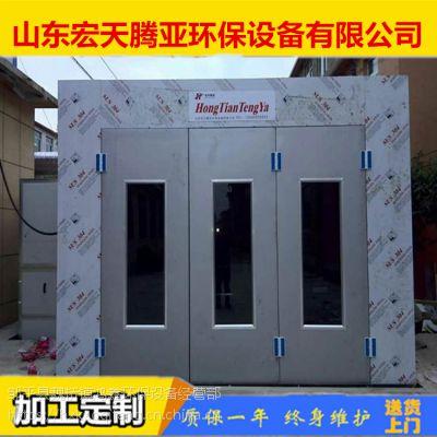 烤漆房加装废气处理可达标 湖北襄阳烤漆房厂家 鸿鑫环保设备