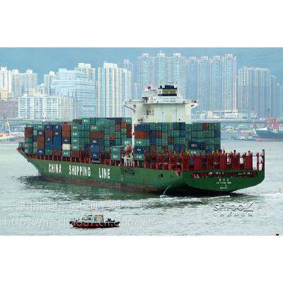 天津到福建泉州海运集装箱运输门到门快船多少钱