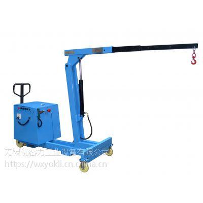 专业定制yokli优客力TSB550E电动小吊机,用于塑机,加工中心吊装模具