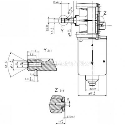 现货 SWF VALEO NIDEC 403.854(403854) 电机 SW2K 24V直流