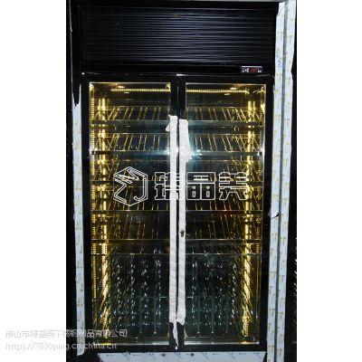 臻晶美厂家直销不锈钢玫瑰金酒柜酒架 不锈钢葡萄酒柜 定制