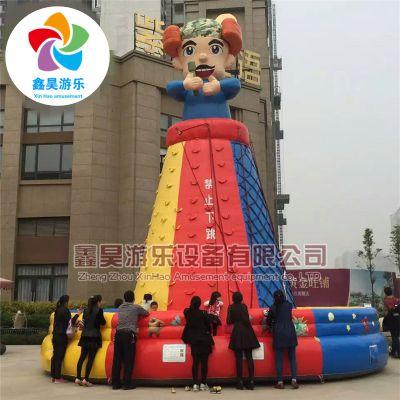 广场公园儿童大型充气攀岩 房地产开盘促销宣传推广活动暖场道具 厂家直销