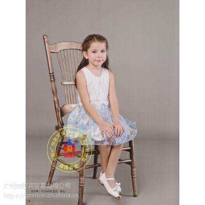 【巴拉小吚】一线品牌童装 夏装甜美连衣裙 折扣尾货批发