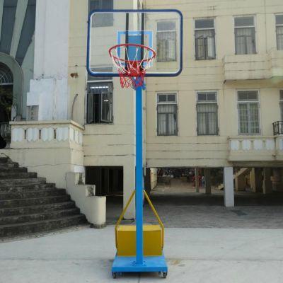 珠海室内移动篮球架高度 儿童篮球架一副多少钱 雅浩批发体育用品