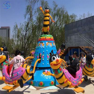 实力厂家生产自控蜜蜂游艺设施三星游乐