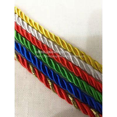 厂家直销 供应手提绳 三股绳 人字带 丝带手提绳