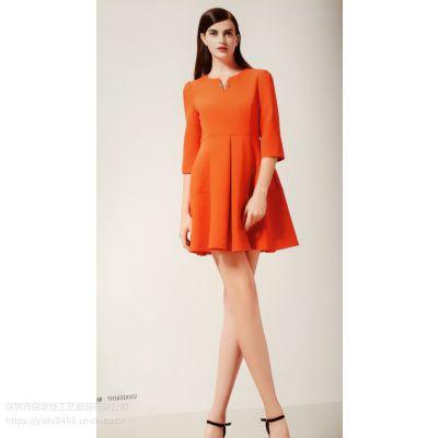 杭州四季青服装市场宠爱女人上海女装批发市场一线品牌女装折扣店连衣裙多种风格