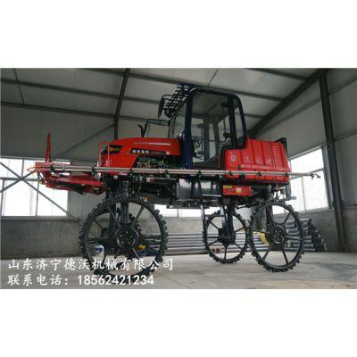 山西省儒兴德沃牌自走式四轮喷药机 小麦喷药机省级代理商