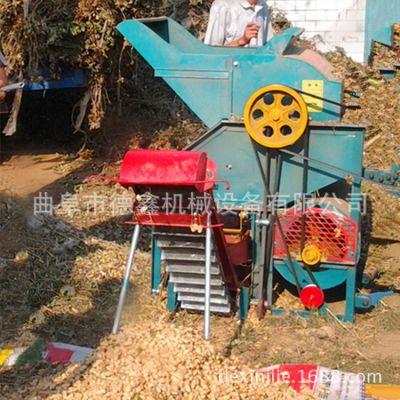 柴油机电机两用花生摘果机 大型全自动花生秧果分离机 省时省工
