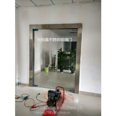 深圳不锈钢门防盗门玻璃门电动玻璃门安装及维修