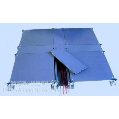 湖南带线槽网络地板 架空全钢地板