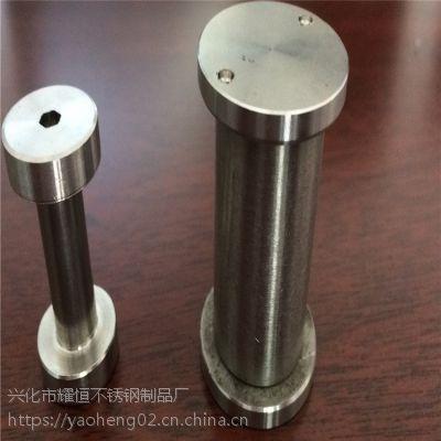 耀恒 生产高品质 玻璃建筑猪鼻螺丝,304不锈钢猪鼻螺栓 M10M14