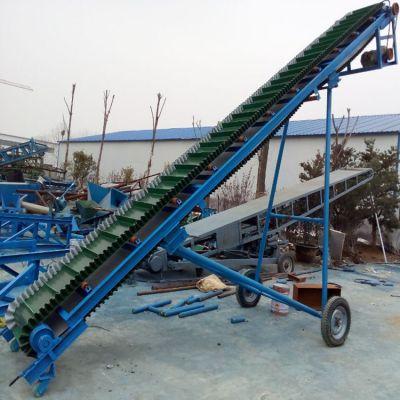 大豆工业皮带输送机 兴亚衣服胶带式输送机视频