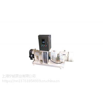 宁能牌变频控制式不锈钢凸轮转子泵