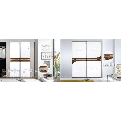 【墨高衣柜门】新款浮雕系列衣柜移门高密度板推拉门