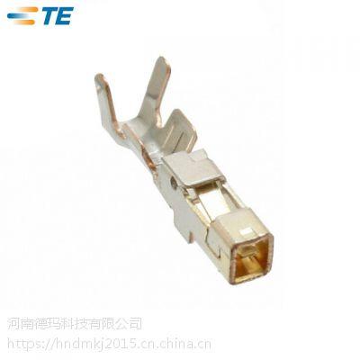 河南泰科分销商 1827570-2 线到线泰科连接器端子