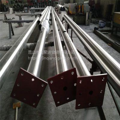 【金聚进】铜州不锈钢旗杆供应商,陕西铜州锥形旗杆