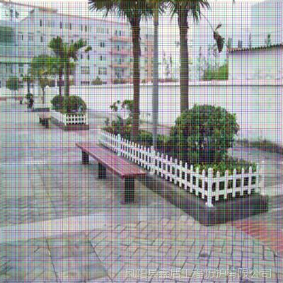 福建厦门思明塑钢护栏图片大全 pvc绿化围栏图片价格 草坪护栏图片