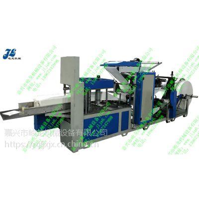 JL-Z(400-2)型全自动餐巾纸双色彩印压花折叠机
