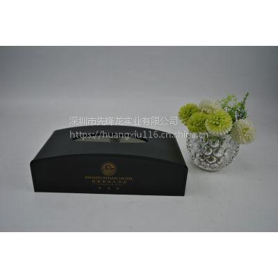 新颖款式亚克力有机玻璃纸巾盒储物盒客房用品酒店用品
