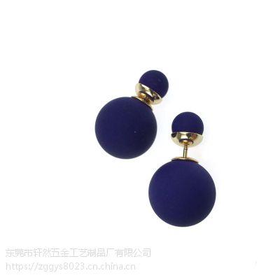 珍珠耳钉 天然淡水珍珠耳钉 耳饰 小饰品 厂家批发 韩国风S925纯银时尚个性女性精品