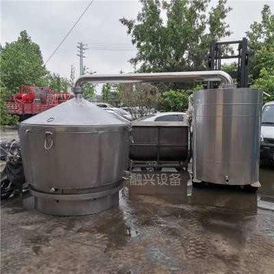 桃江县纯304不锈钢酿酒设备 米酒药酒酿酒设备厂家 小型蒸汽加热烤酒工具
