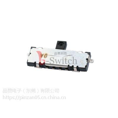 G-SWITCH直销 超薄左复位微型拨动开关 规格9.05×3×1.15mm 高品质低价格 专业定制