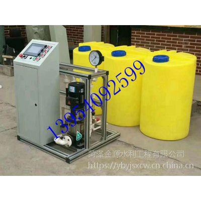 安徽合肥全自动比例施肥机实现全自动灌溉系统金源厂家供应