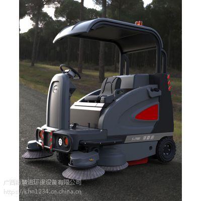 广西驾驶式扫地机机场外围保洁用款顶棚吸尘清扫