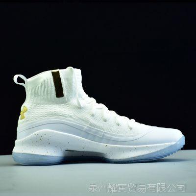 库里高帮4代男鞋女鞋高质量实战篮球运动鞋莆田厂家批发一件代发