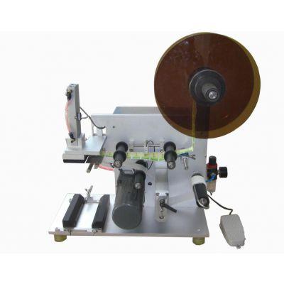 半自动贴标机的价格|上海半自动贴标机成产厂家|上海天铨机械|圆瓶贴