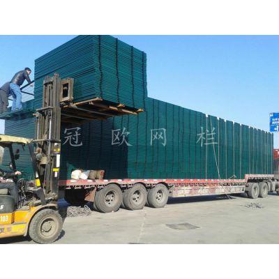 厂家供应高速铁路线路防护栅栏 铁路通线2012(8001)防护栅栏价格