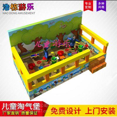 沙池围栏厂家定制高档软包球池沙池围栏淘气堡室内儿童游乐设备