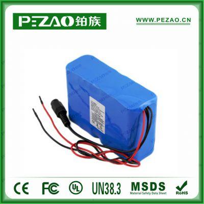 铂族电池 医疗电池/B超仪电池/监护仪电池/心电图电池/输液泵医疗锂电池/18650锂电池组