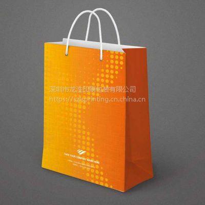 手提袋印刷设计,礼物包装手提纸袋印刷定制