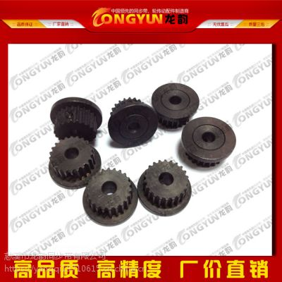 龙韵多规格多材质T10齿型高精密度优质同步带 带轮 挡边 压板