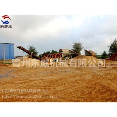 定制型水洗沙设备/安徽斗轮式洗沙机厂家/【东威机械】沙矿设备报价