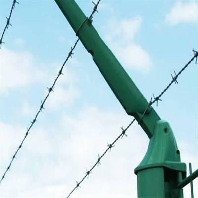 铁丝刺绳 刺绳护栏 带刺铁丝
