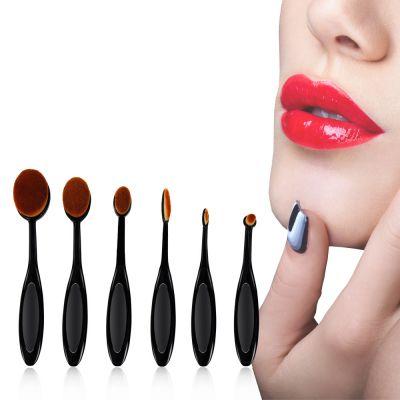 kainuoa/凯诺化妆刷工厂批发6支牙刷化妆刷套装 美妆工具彩妆刷