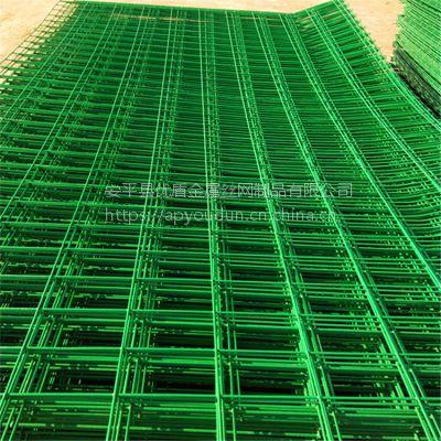 护栏网生产厂家【在线咨询】河道铁网围栏 绿色安全网围栏
