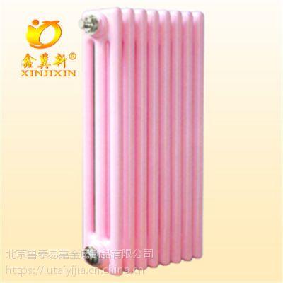 gz318钢制三柱暖气片钢管三柱暖气片散热器生产厂家-鑫冀新
